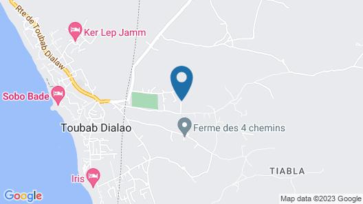 Complèxe Keur Anta Map