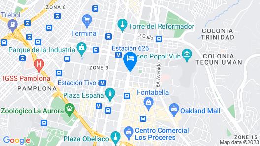 Hotel San Carlos Map