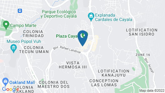 AC Hotel by Marriott Guatemala City Map