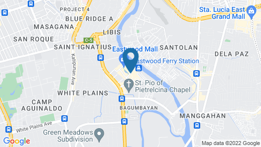 Eastwood Richmonde Hotel Map
