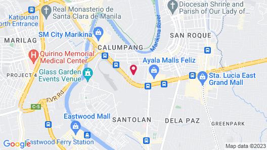 Hotel Sogo Santolan Map