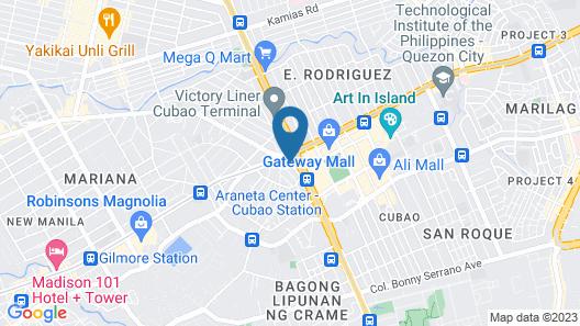 OYO 640 Spring Hotel Map