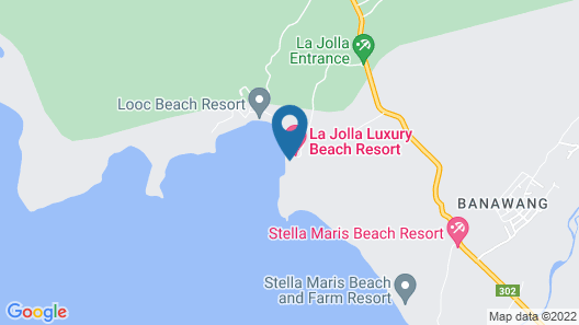 La Jolla Luxury Beach Resort Map