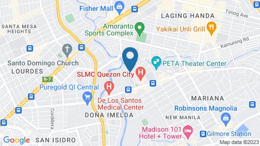 Agustina Serviced Apartments Map