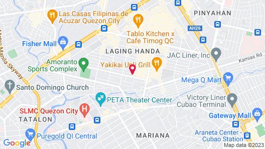 Privato Quezon City Map