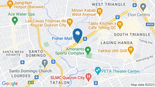 Hotel Sogo - Quezon Ave. Map