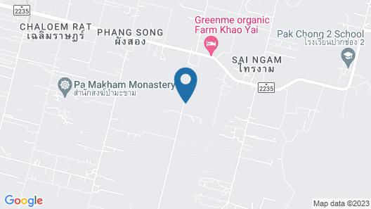 Phuwadee Resort Khao Yai Map