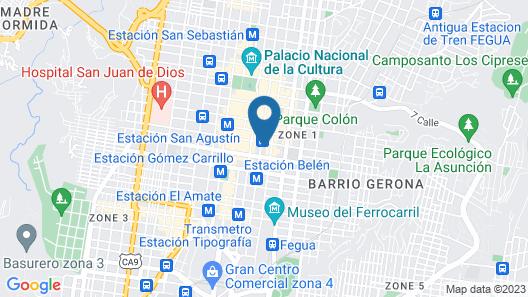 Hotel Spring Map