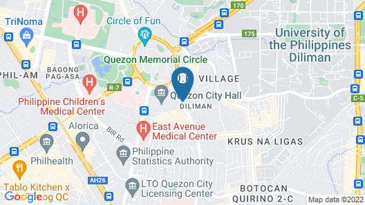 Residenciale Boutique Apartments Map