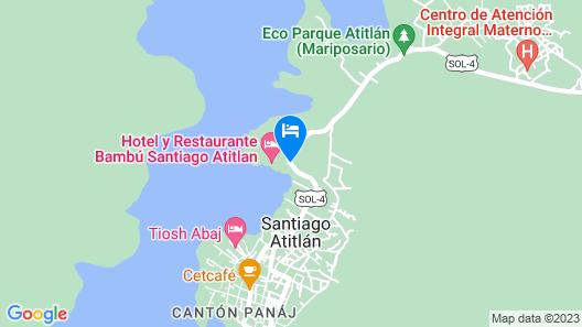 Hotel Vista Dorada Hacia Dios Map
