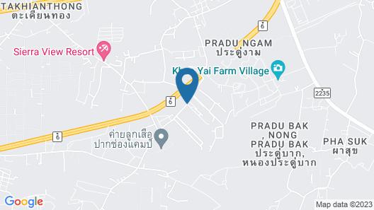 Blue Sky Villa Khaoyai Resort Map