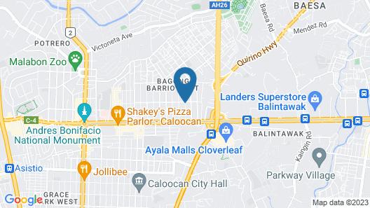 Victoria Court Balintawak Map