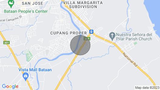Experience Cozy New 2BR Apt w/ Parking Balanga-pilar Map