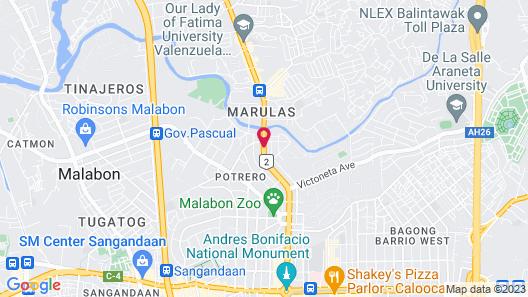 Victoria Court Malabon Map
