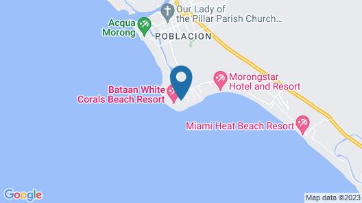 Coralview Beach Resort Map