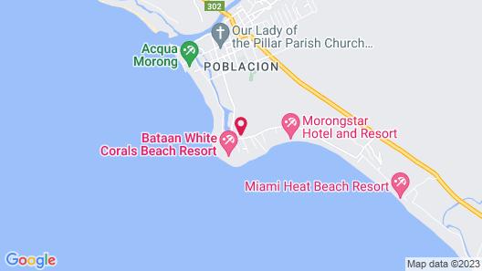 Hana-Natsu Resorts Pool Map