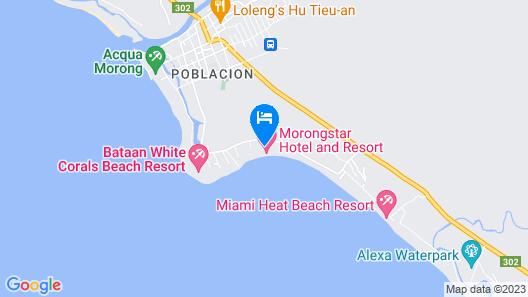 MorongStar Hotel and Resort Map