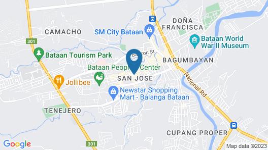 GAP Plaza Hotel Map
