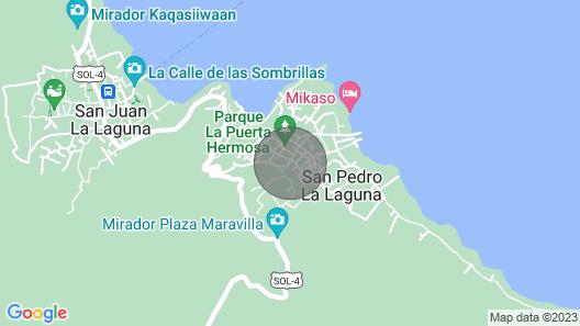 Casa San Pedro la Laguna Map
