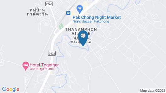 Bansuanrimnam Pakchong Map