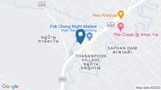 Hello Hostel Pakchong Map
