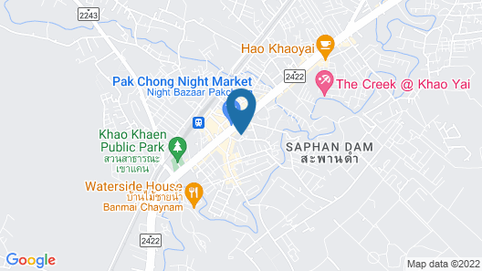 At Home Hostel Map