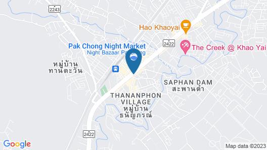 Pakchong Center Poshtel Map