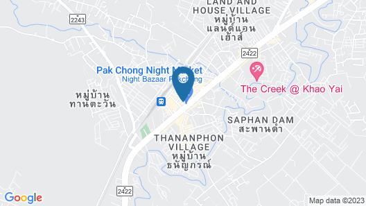 WE Pakchong Hostel Map