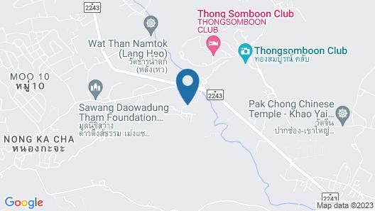 Pakchong Family Home Map