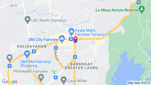 McHotel Fairview Map