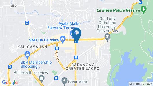 OYO 666 Mc Hotel Fairview Map