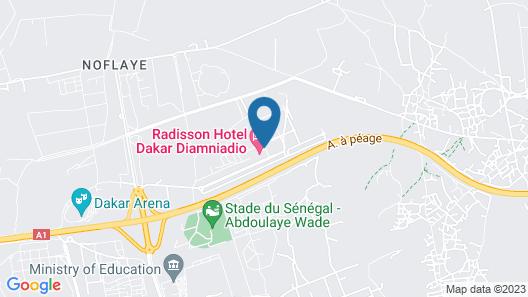 Radisson Hotel Dakar Diamniadio Map