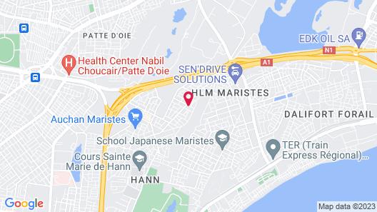Résidence Mariste Map