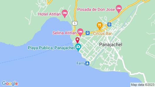 Hotel y Centro de Convenciones Jardines del Lago Map