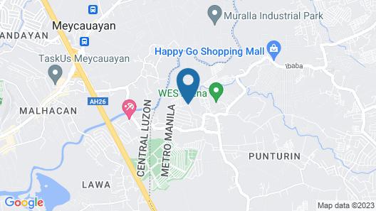OYO 477 Carino Resort Map