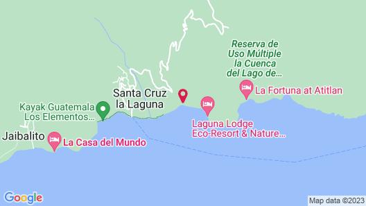 Casa Prana Hotel In Atitlan Map