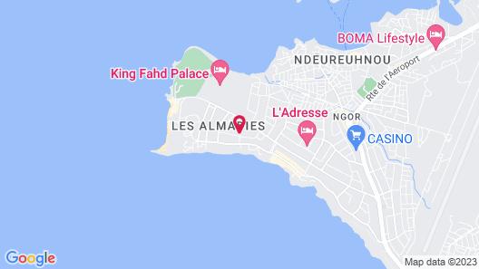 La Résidence Dakar Map