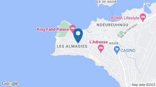 King Fahd Palace Map