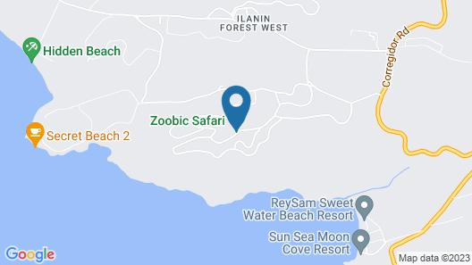 Zoobic Glampz- Subic Map