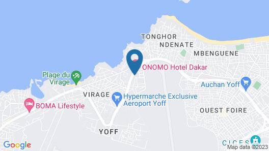 Onomo Hotel Dakar Map