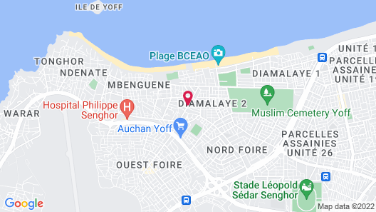 ViaVia Senegal Dakar - Hostel/Backpacker Map