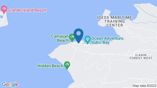 Camayan Beach Resort Map