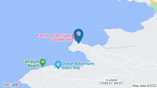 Hotel Kamana Sanctuary Resort and Spa Map
