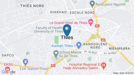 Hotel Restaurant Rex  Map