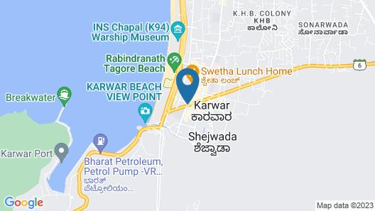 Mastiff Hotel Karwar by OTHPL (Formerly Citrus Karwar) Map