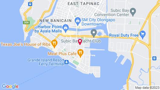 Subic Bay Peninsular Hotel Map
