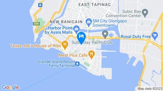 Subic International Hotel Map