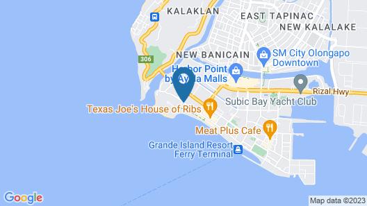 Vista Marina Hotel and Resort Map