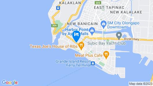 Best Western Plus Hotel Subic Map
