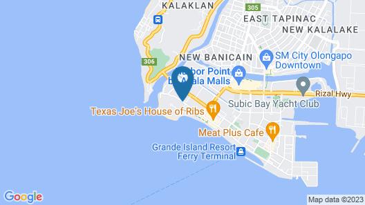 Sun Plaza Subic Map